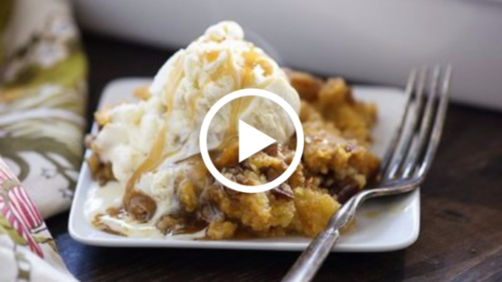 Pumpkin Crunch Cake Recipe Video