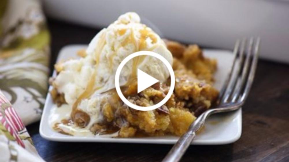 Pumpkin Crunch Cake Recipe Video